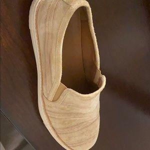 Men's Frye Slip on suede shoes